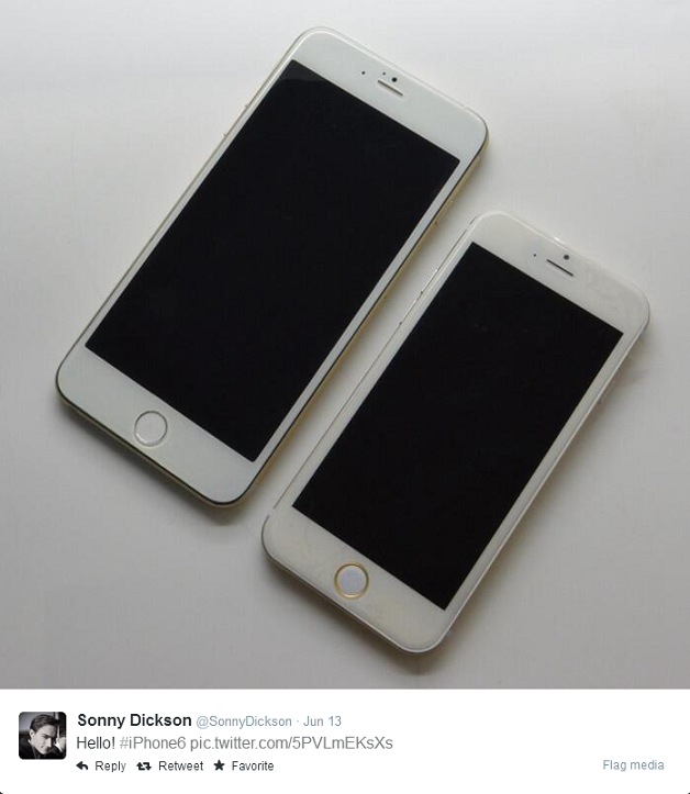 4.7-inch and 5.5-Inch Versions of the iPhone 6 Possibly Leaked