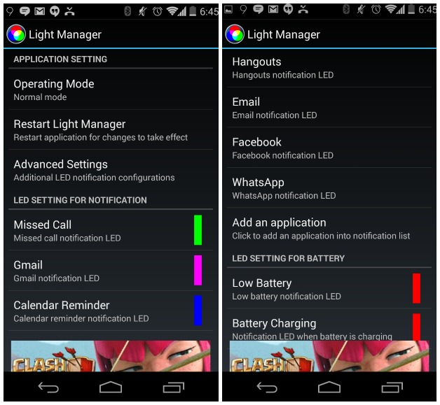 How To Change The Color Of Your Led On Android One Click Root