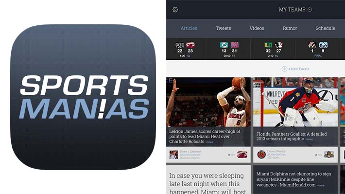 Looking for a New Sports App? Consider SportsManias