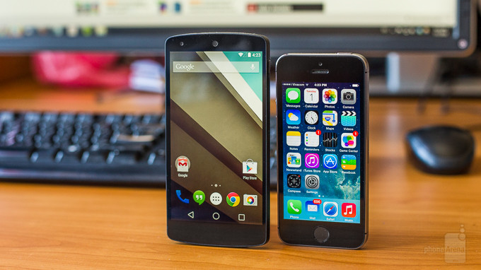 Android 5.0 L vs Apple iOS 8 Pre-Battle News – Data Show Android Overtaking iOS in Mobile Usage