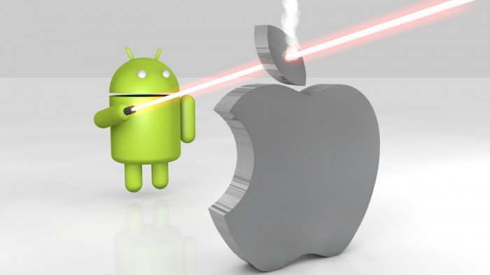 Android Quickly Capitalizing On the Apple Void in the Smartphone Market