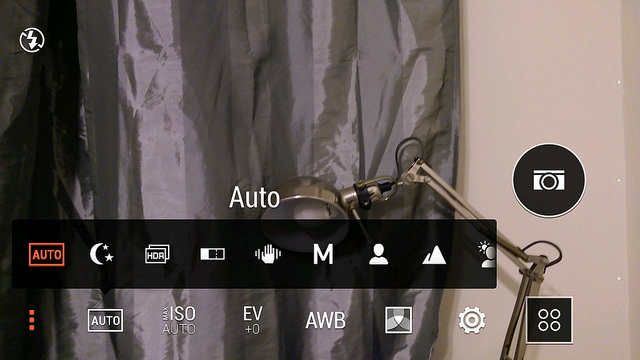 iso android camera