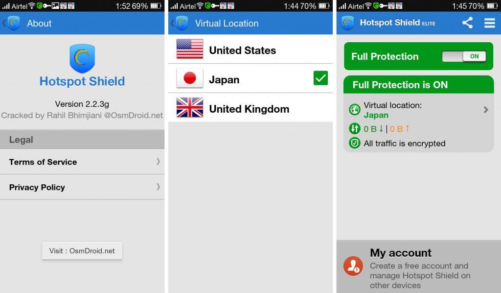 Hotspot Shield VPN and Proxy 2