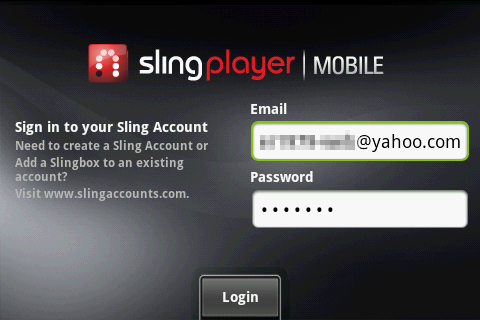 SlingPlayer for Phones 2