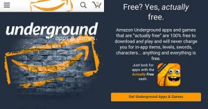 Amazon Underground Launches Android Apps Store With Free Apps