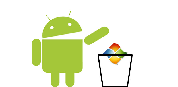 Android to Replace Windows Embedded With Microsoft Withdrawing Support