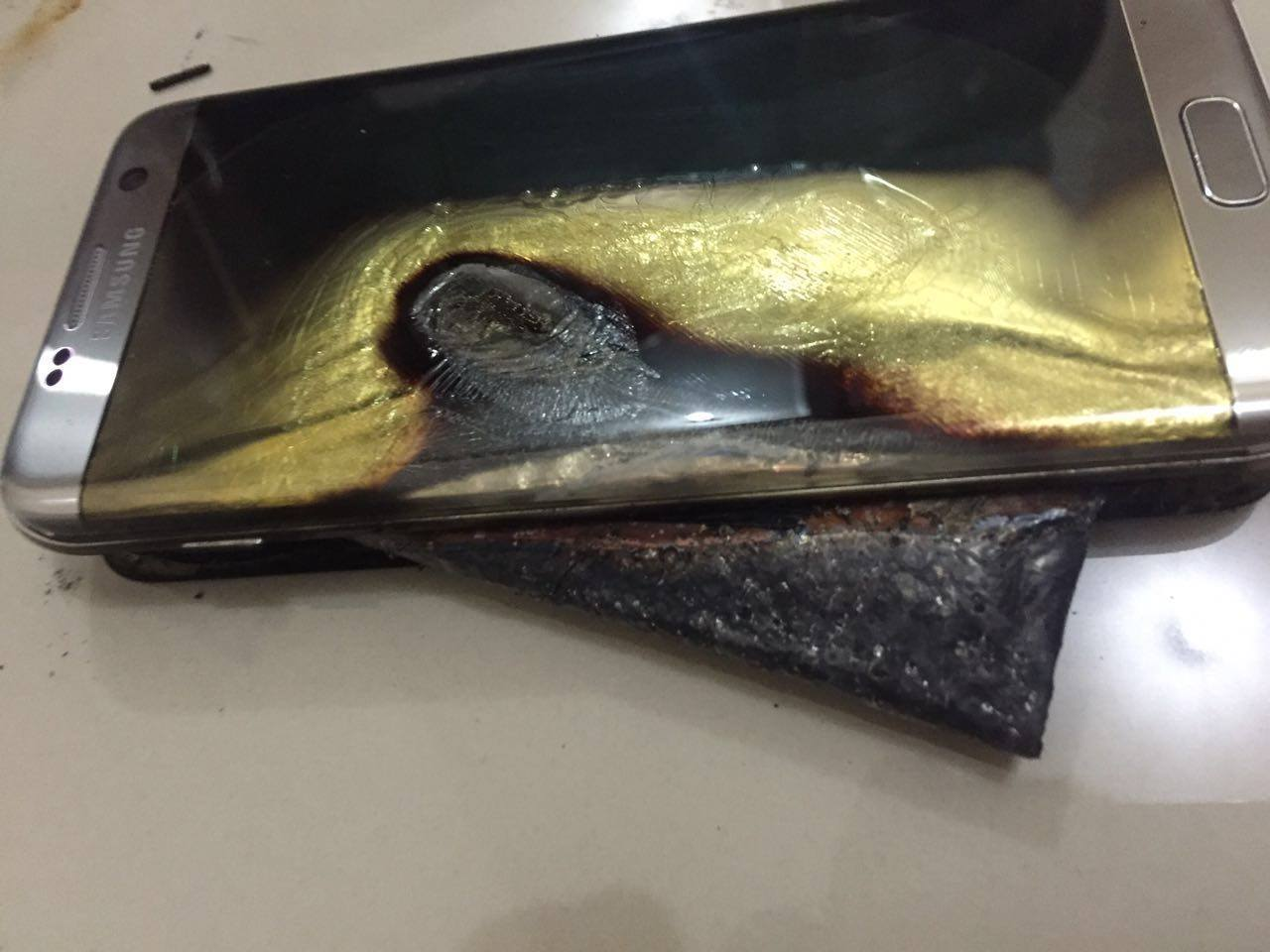 Samsung Now Facing Reports of Galaxy S7 Edge Fires