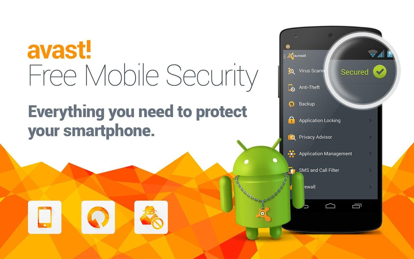 Avast Mobile Security and Anti-Virus   One Click Root