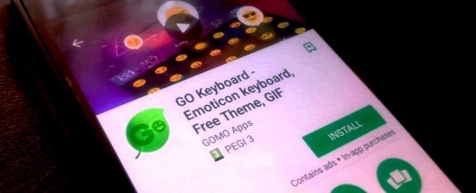 GO Keyboard Apps Caught Monitoring and Collecting User Data