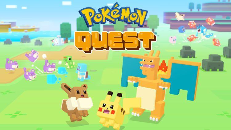 Tired of Pokemon GO? Here's Pokemon Quest!