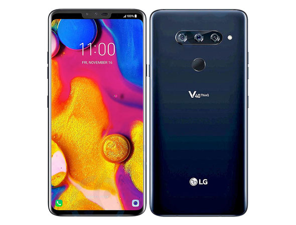 LG V40 ThinQ: Five cameras and a headphone jack comeback