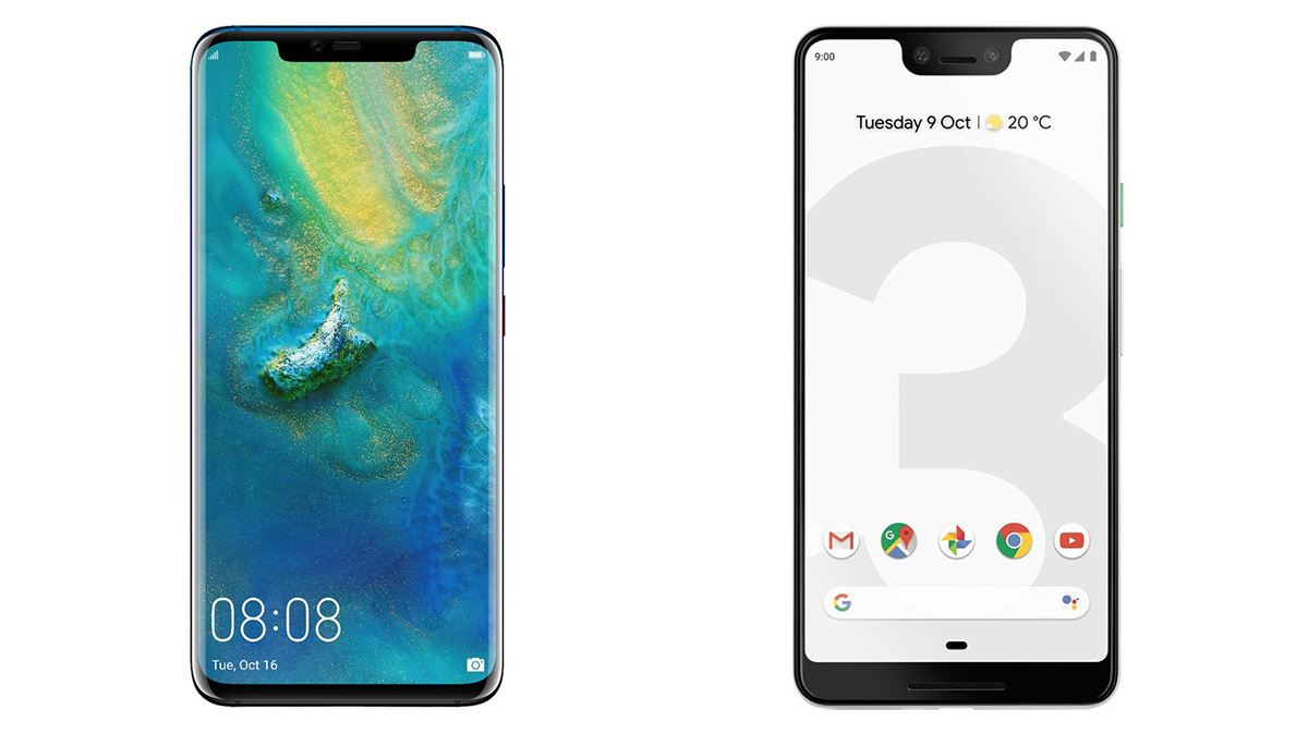 Huawei Mate 20 is doing great, Google Pixel 3 not so much