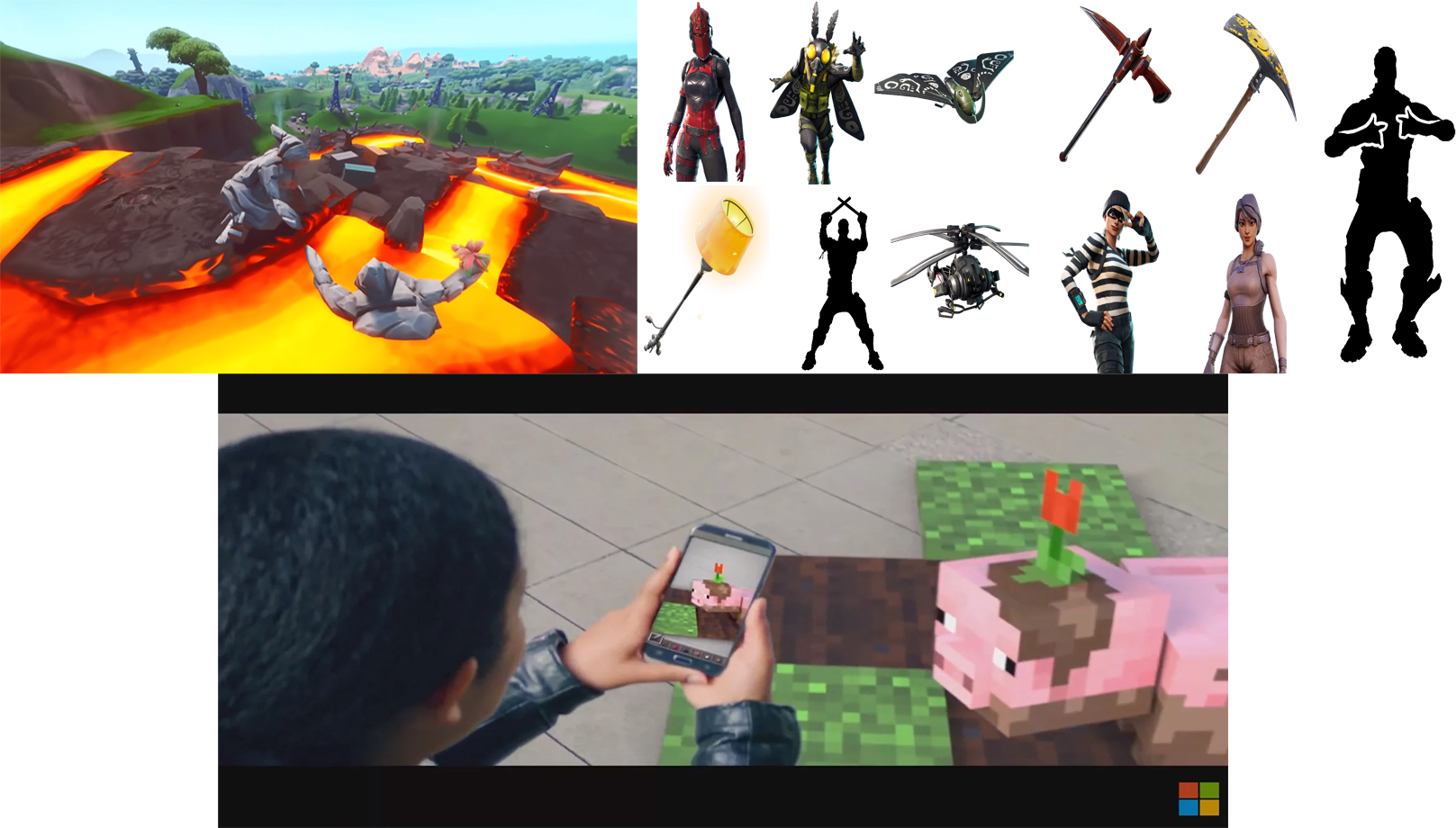 Android Games Update: Fortnite map and item update, Minecraft mobile AR gaming
