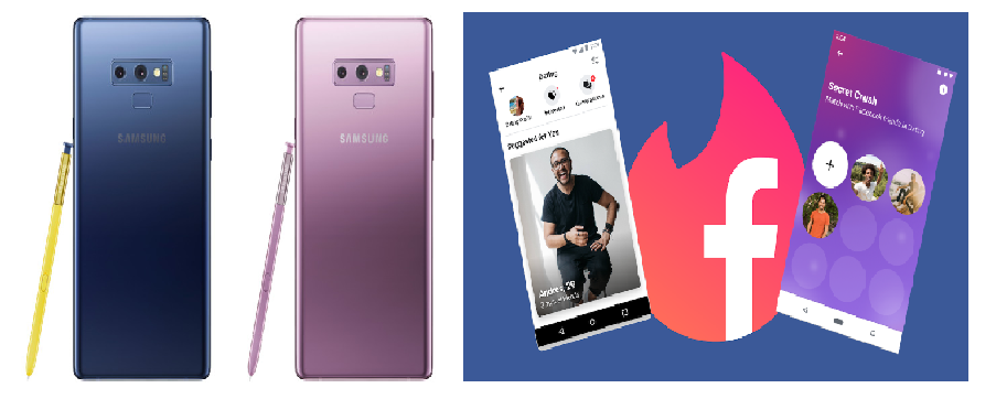 """Samsung Galaxy Note 9 gets a security update, while Facebook is having a """"Secret Crush"""" update"""