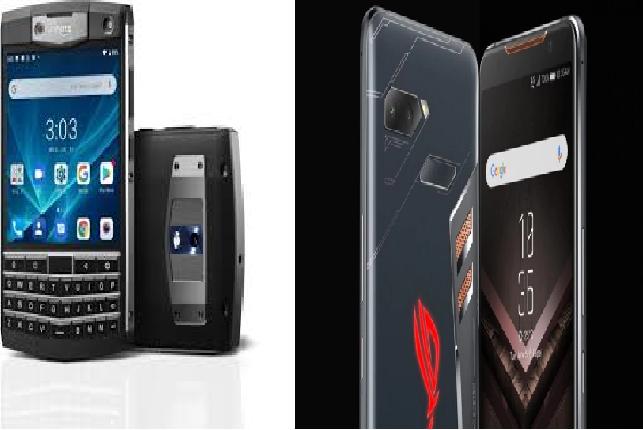Sneak Peek: Here's a look at Unihertz Titan and the (hopefully) ASUS ROG Phone 2