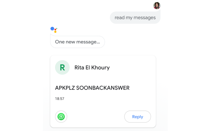 Google Assistant – now reads and replies messages from more apps; but under investigation in the EU