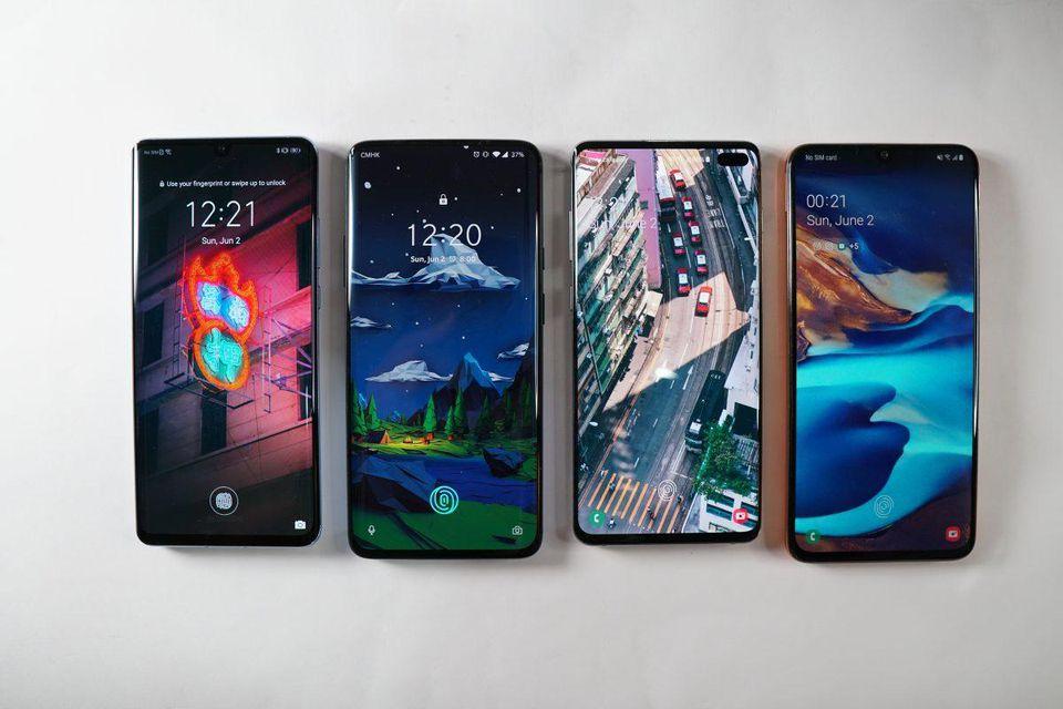 4 Best Phones with in-display fingerprint scanner this 2019
