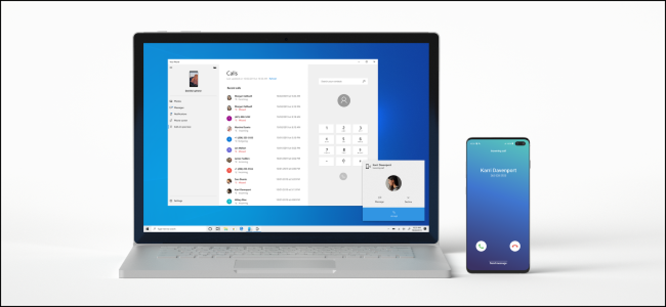 Here's How You Can Place and Receive Android Phone calls on your Windows PC.