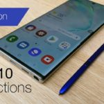 Here's how Air Actions on the Galaxy Note 10 works